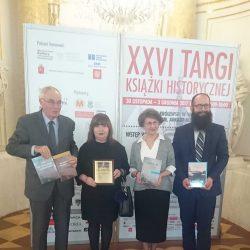 Nagroda KLIO za serię wydawniczą - Kresy w polskich pamiętnikach i listach 1795-1918