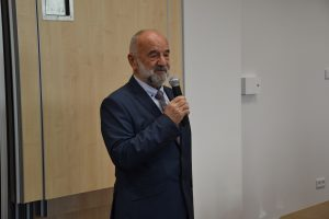 Przemawia Prof. Adam Massalski