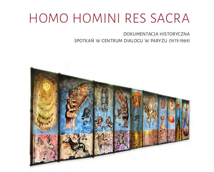 Okładka książki Homo Homini Res Sacra