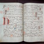 Wybrane strony z ANTYFONARZA KOLEGIATY KIELECKIEJ (OK.1372 R.). Wydanie fototypiczne z komentarzem, pod. Red, prof. K.Brachy