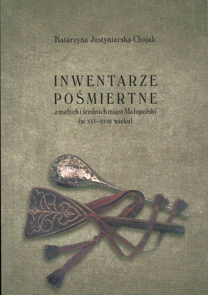 Okładka książki Inwentarze pośmiertne