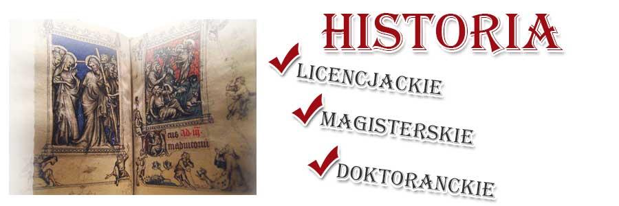 Obrazek reklamowy kierunku Historia